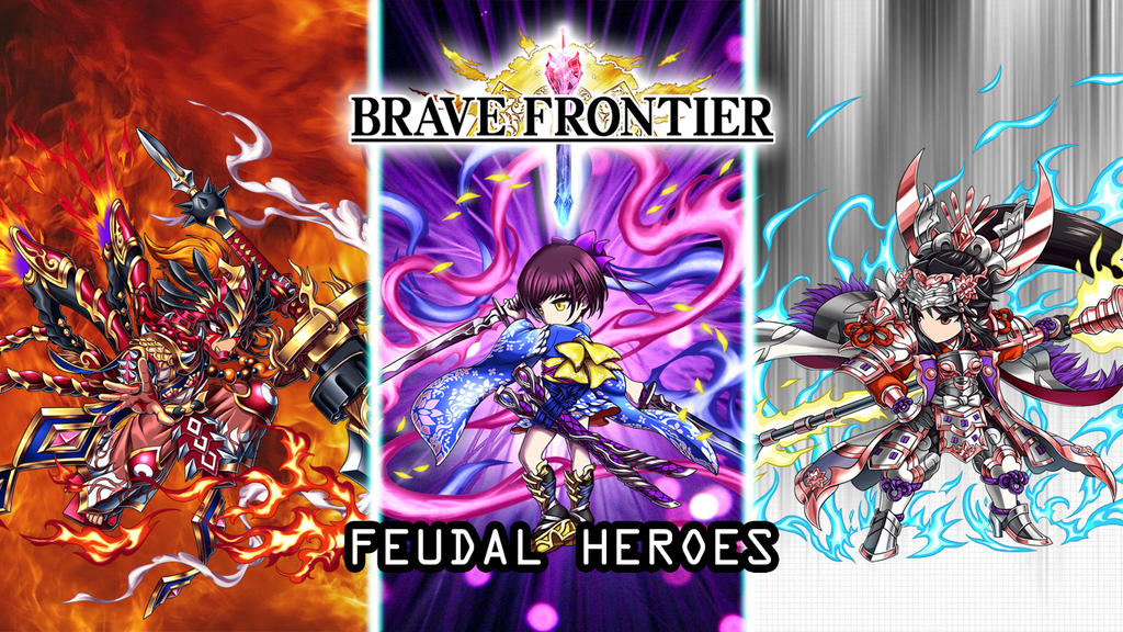 Brave Frontier Feudal Heroes Batch Wallpaper by Steve8Hansen8 on
