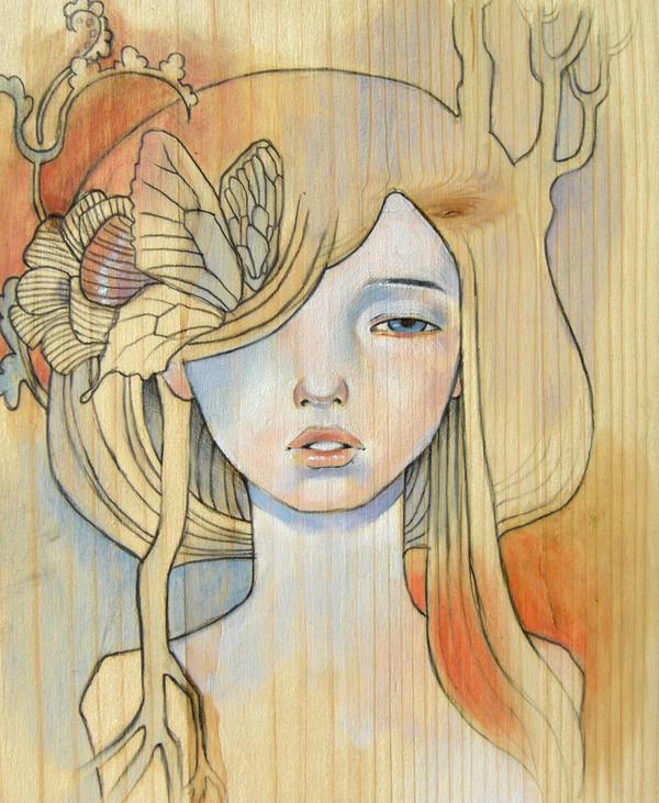 audrey's kawasaki girl by super-ania
