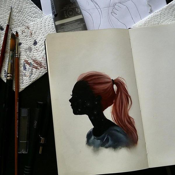 oil sketch by super-ania