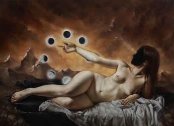 Sleeping Satellite by ponyania