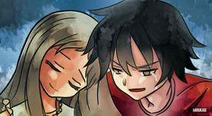 A sad farewell by Harukagi