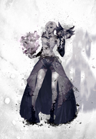 Mesmer (GW2 FanArt) by Clarisse2DArt