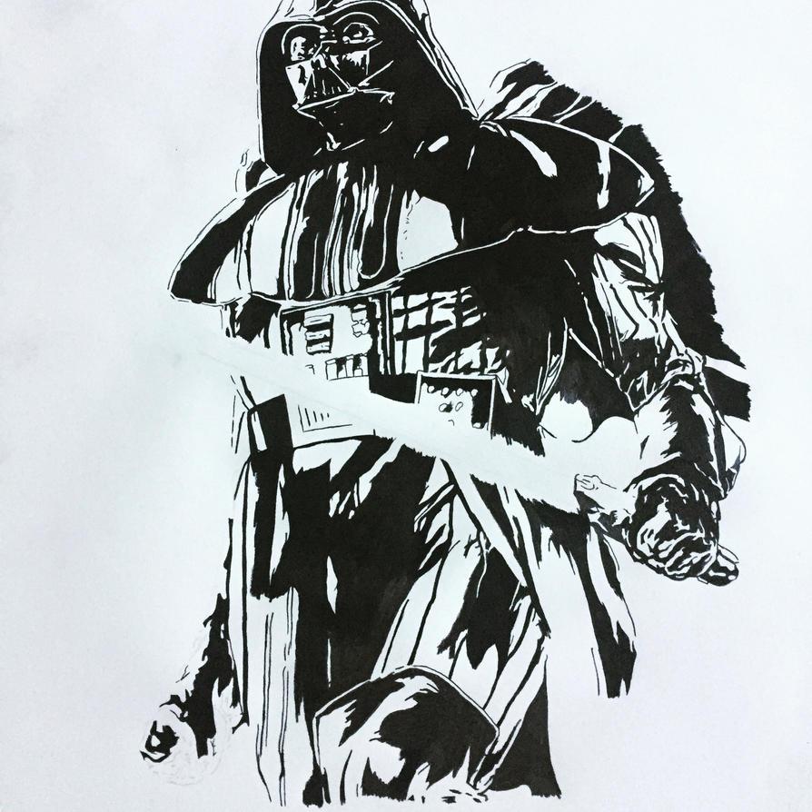 Darth Vader by ClarkRankins on DeviantArt