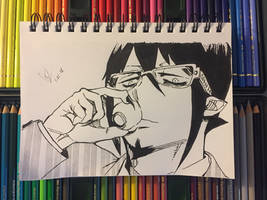 Mephisto Pheles Fanart from Blue Exorcist by ClarkRankins