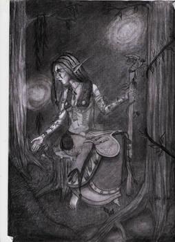 Arwjen Nachttaenzer - WoW Nightelf