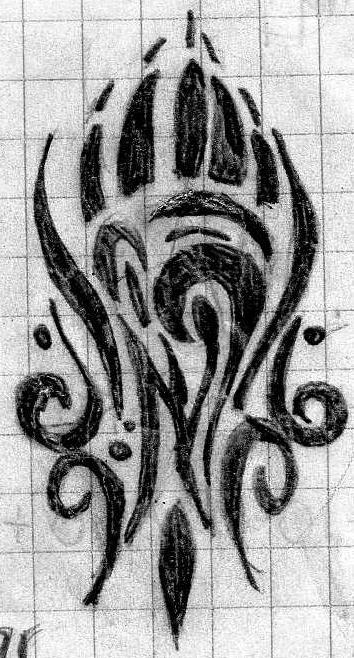Bear claw tribal by cynthita on deviantart for Tribal claw tattoo