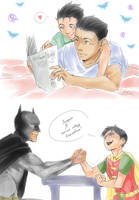 Batman and Robin 2 by LinART