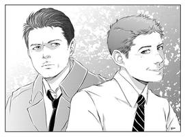 Dean_Cas 3 by LinART