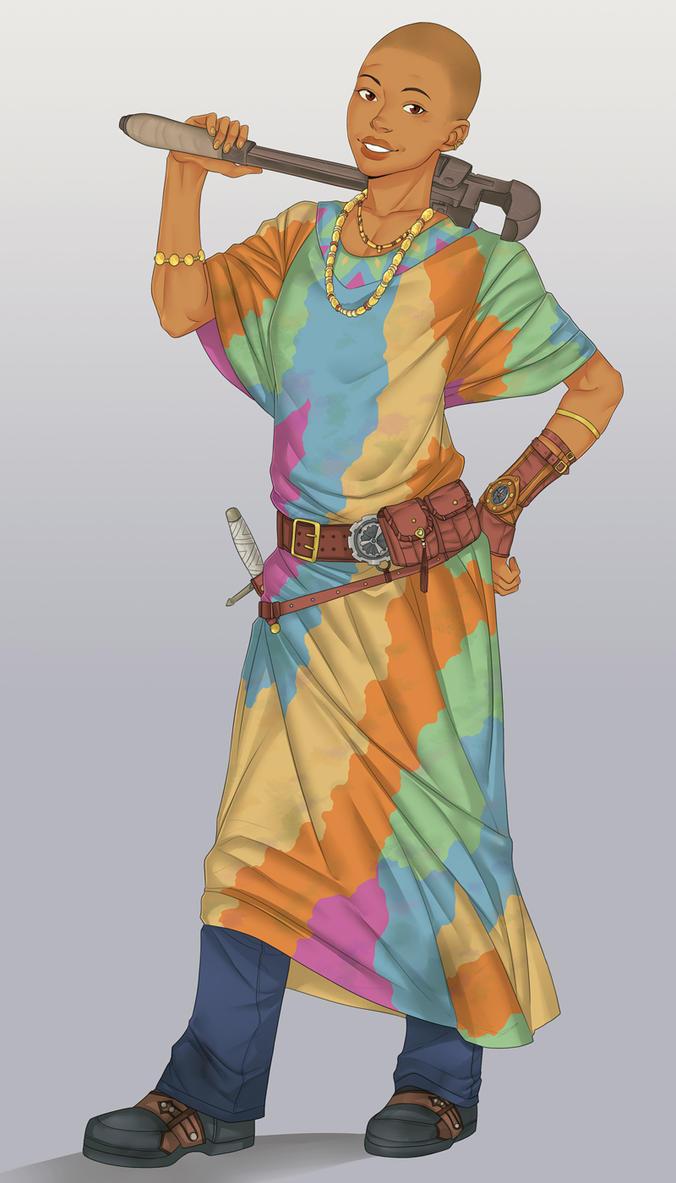 Akasani by LinART