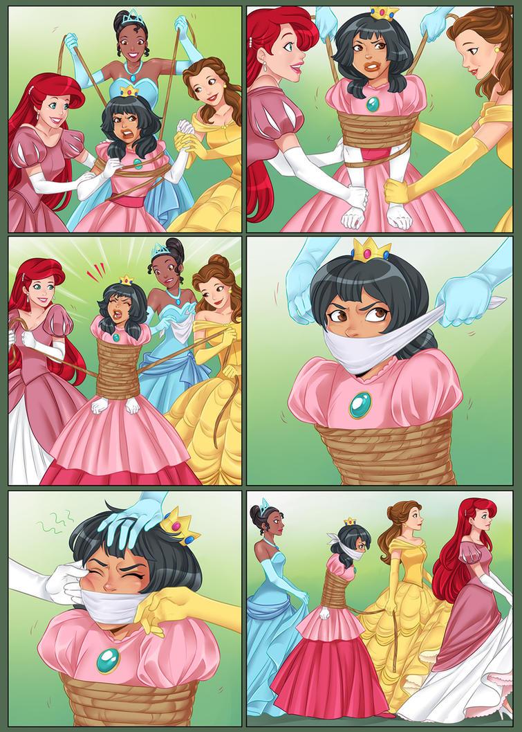 2 hot princesses dancing teasing nonnude 8