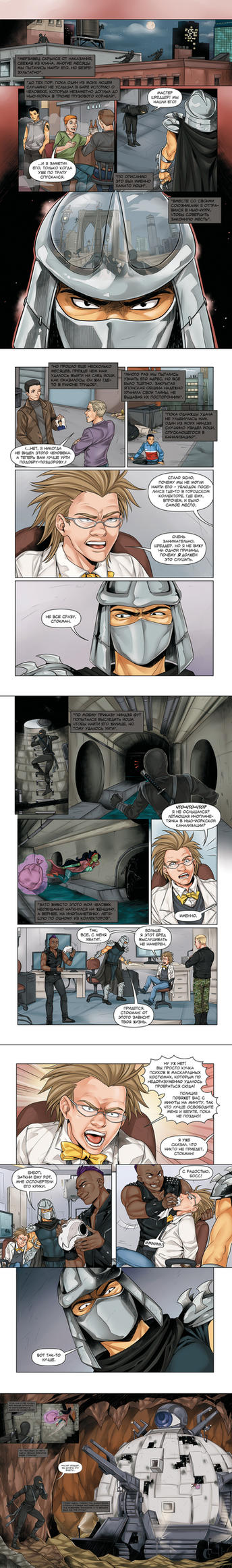 Origins 3: Baxter Stockman 3 by LinART