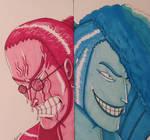Denjiro the mad by BrutalTomoko
