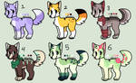 .:CLOSED:. 25 POINT PUPPY ADOPTABLES