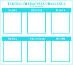 TLK/G Characters Challenge - 8th Edition