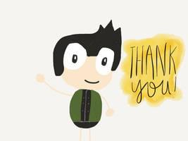 Thank you! by SlipperyRaptor
