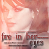 Fire in her eyes by SteffiSyndrom