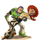 Buzz and Jessie dancing by Violette-Aner