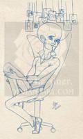 Mega10: Confession WIP by Violette-Aner