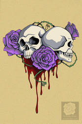 Death and Beauty by Violette-Aner