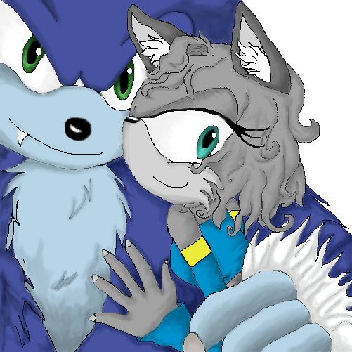 Werehog and Amy Rose Juarez by SonicTheHedgeSantos on ...