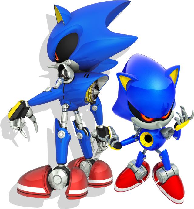 Sonic Generations Metal Sonic by SonicTheHedgeSantos
