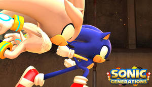 Sonic Generations Silver Boss
