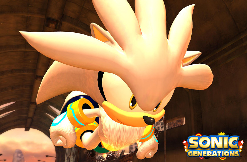 Sonic Generations Silver Boss by SonicTheHedgeSantos