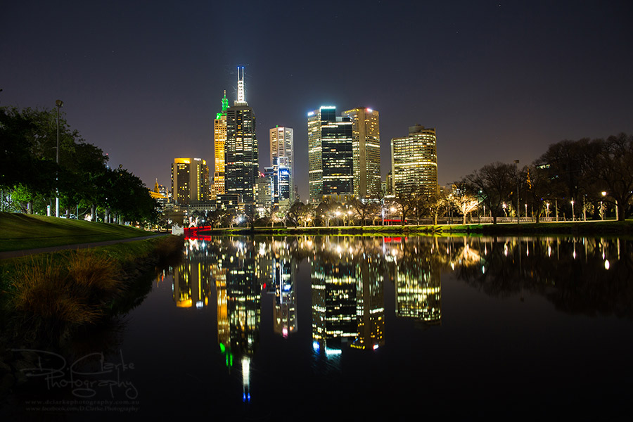 Melbourne Lights 2 by DClarke-Photography