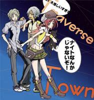 Traverse Town::Riku Drop by Akari-Sweetness