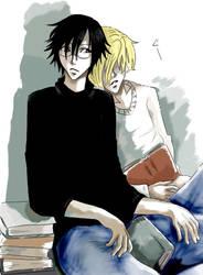 Hittin the books by Akari-Sweetness