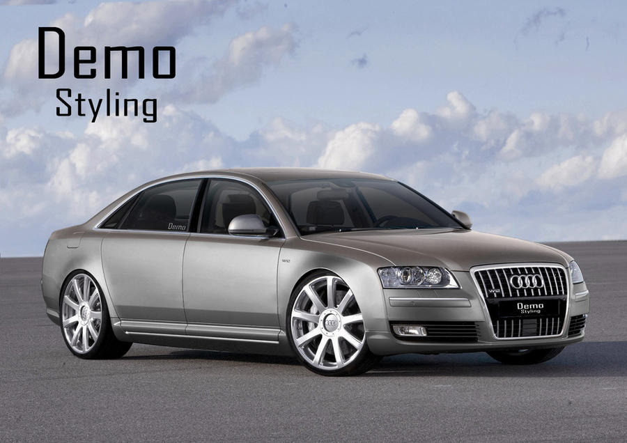 audi a8 w12 tuning by lexusgs430 on deviantart. Black Bedroom Furniture Sets. Home Design Ideas