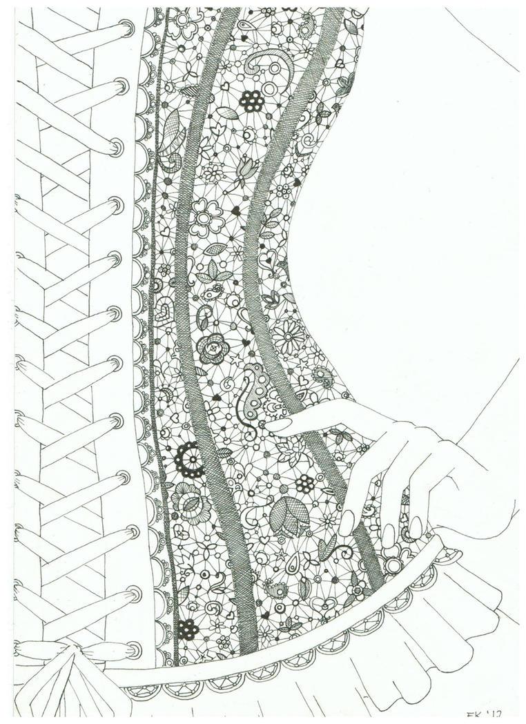 lace drawing pattern - photo #30