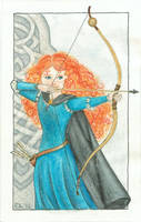 World travel book 2: 1st Entry, page 1: Merida by Traumfaengerin-Wish