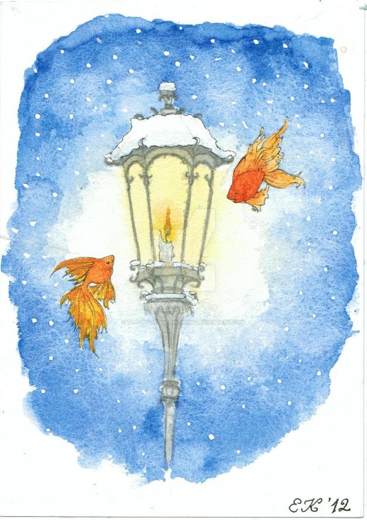 Lantern - Fish by Traumfaengerin-Wish