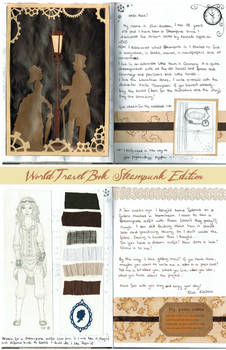 World Travel Book: Entry for the Steampunk Edition