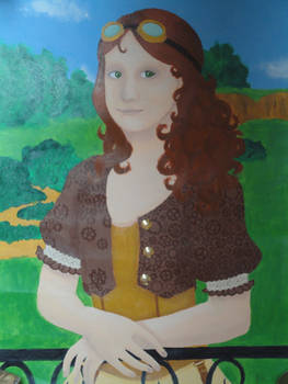 Steampunked Mona Lisa