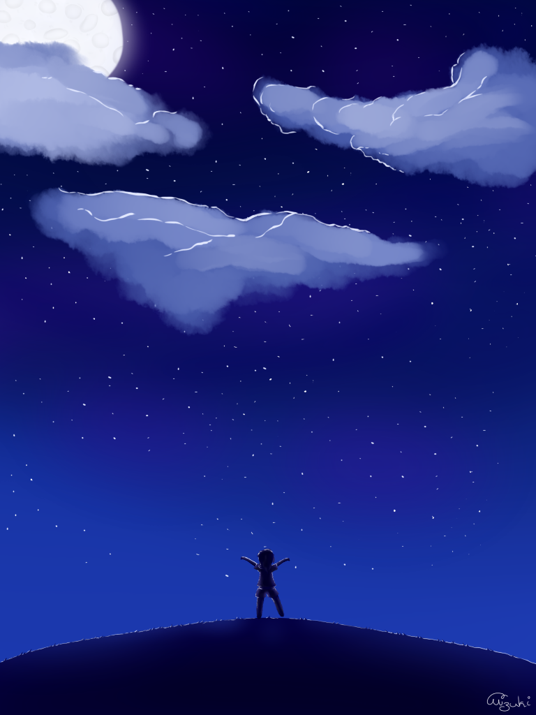 Night~sky by xXDasMiepXx