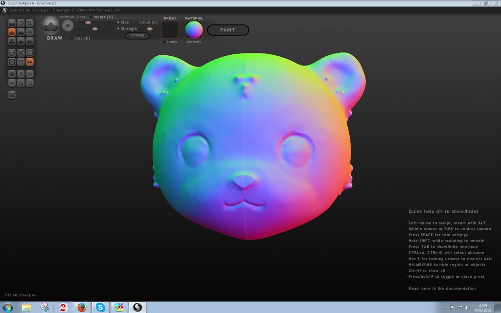 RAINBOW TEDDY! by xXDasMiepXx