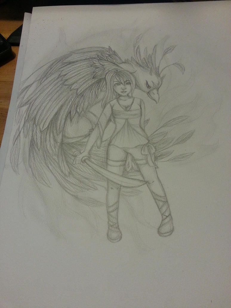 Phoenix Power! by xXDasMiepXx