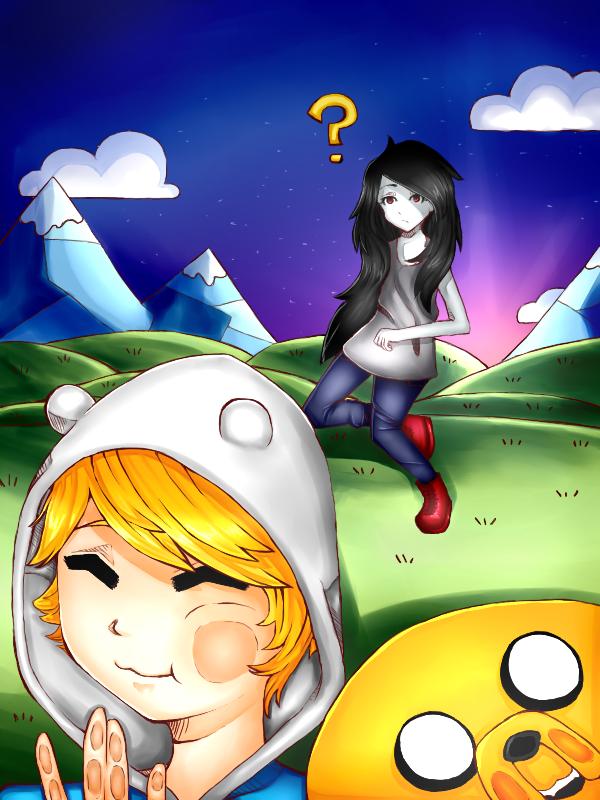 Adventure Time by xXDasMiepXx