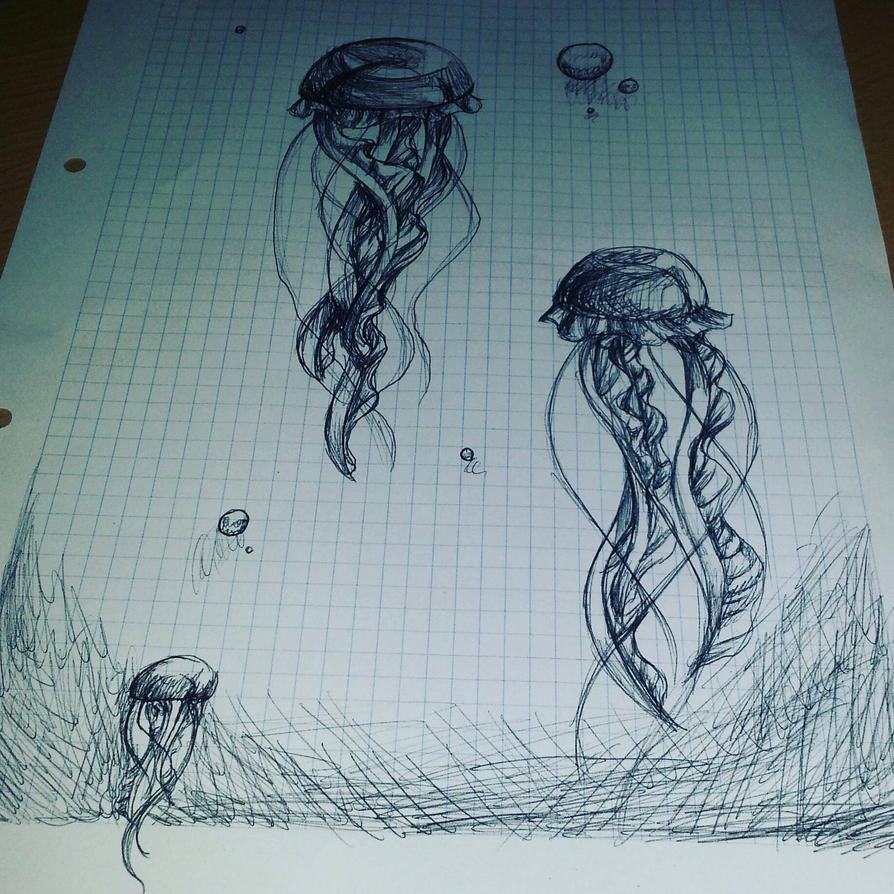 Jellyfishies by xXDasMiepXx