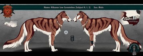 Nikanor Lew Coranthes  [Adult] by Soldatenherz-Comic