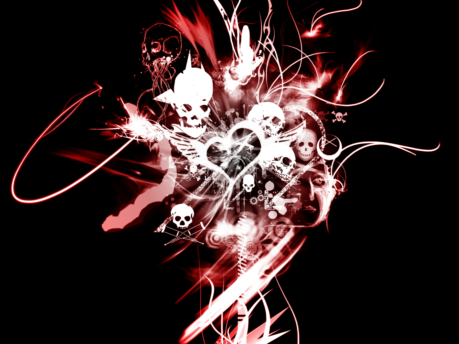 For Love and Death - Wallpaper by V1N3 on DeviantArt