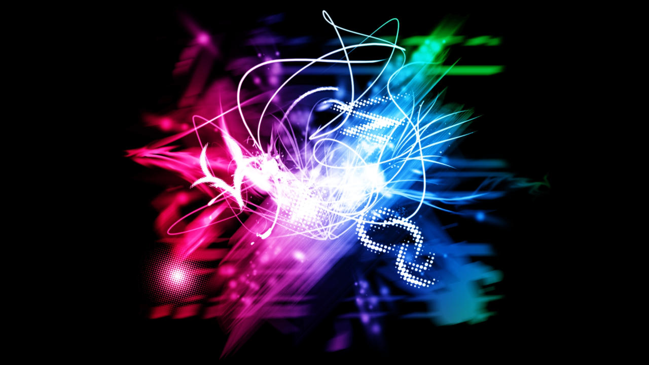 neon lights wallpaper by v1n3 customization wallpaper abstract 2010 ...