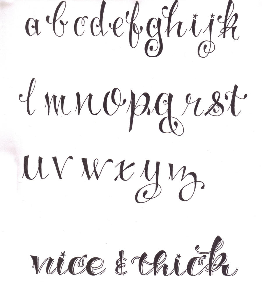 BJ Betts Script Font http://fasciaworld.com/_notes/bj-betts-font