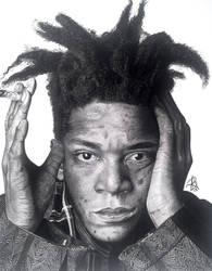 Basquiat Final Drawing by wega13