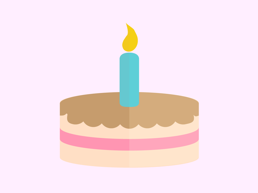 Birthday Cake Vector by seprira on DeviantArt