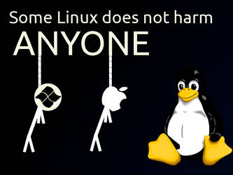 Some linux does not harm anyone by williamjmorenor