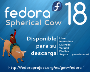 Fedora 18 Realese by williamjmorenor