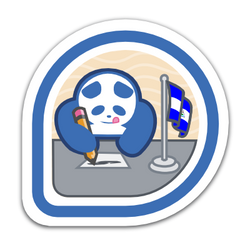 Fedora Badge for fedora.org.ni by williamjmorenor